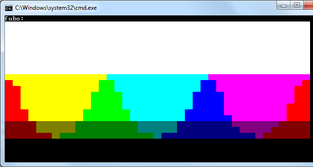 640x342 display a image in a console application