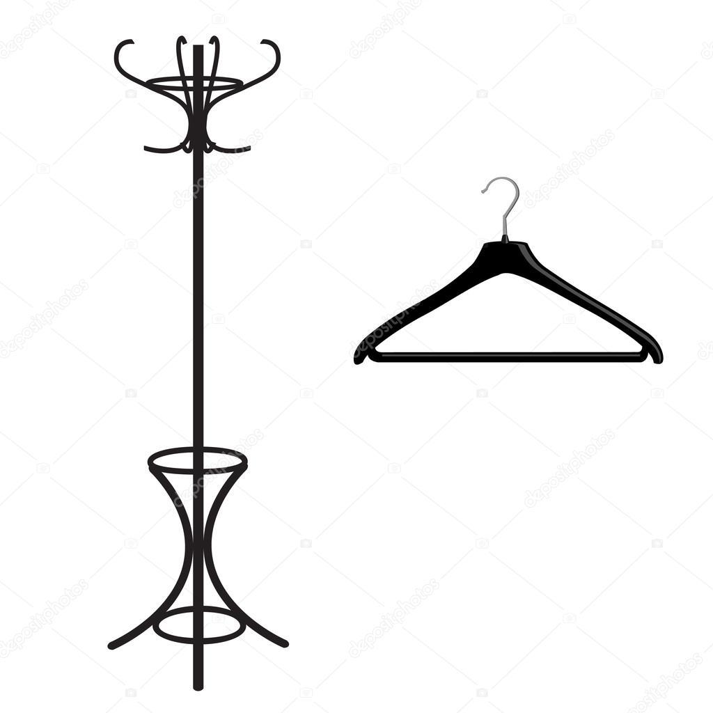 1024x1024 coat drawing coat hanger for free download