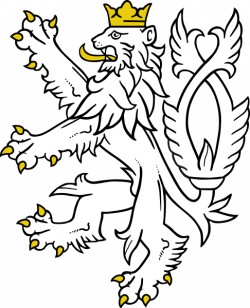 250x308 wolf coat of arms png, picture lion coat of arms png