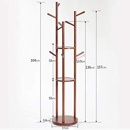 425x425 gxampxd solid wood coat rack, premium wooden coat rack