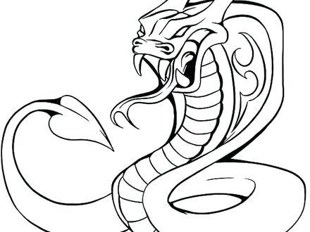 440x330 Cobra Coloring