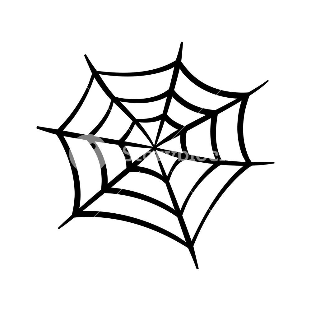 1000x1000 spider web icon cobweb vector silhouette spiderweb clip art