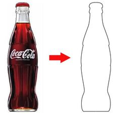 Coca Cola Bottle Drawing
