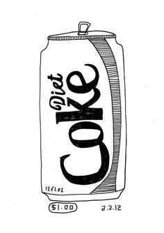 Coca Cola Can Drawing