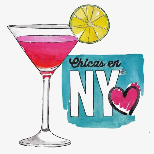 500x500 cocktail, cocktail clipart, hand painted cocktail, drawing