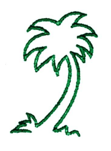 366x500 Outline Palm Tree Frames Illustrations Images Clip Art Coconut