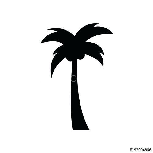 500x500 Simple Palm Tree Palm Simple Palm Tree Outline