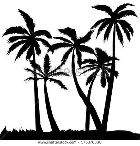 450x470 Drawn Palm Tree Coconut Tree