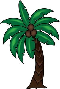 202x300 Palm Tree Clipart Image