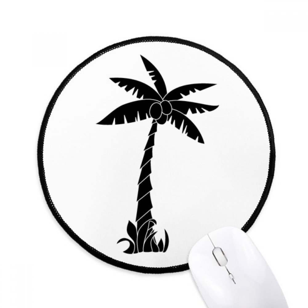 Coconut Tree Line Drawing