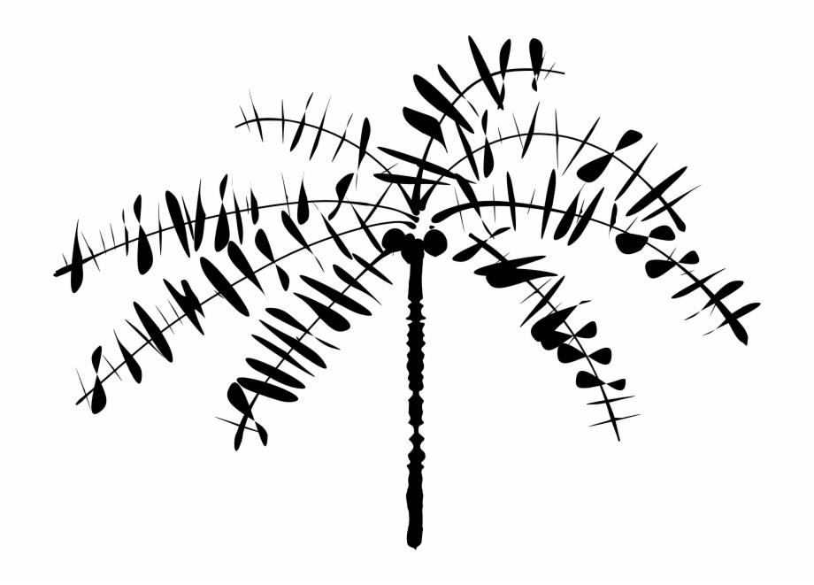 920x661 Abstract Coconut Tree