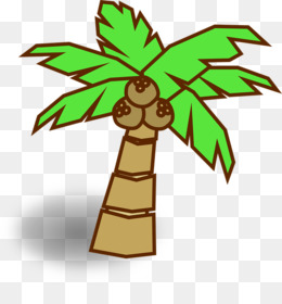 260x280 coconut tree drawing png and coconut tree drawing transparent