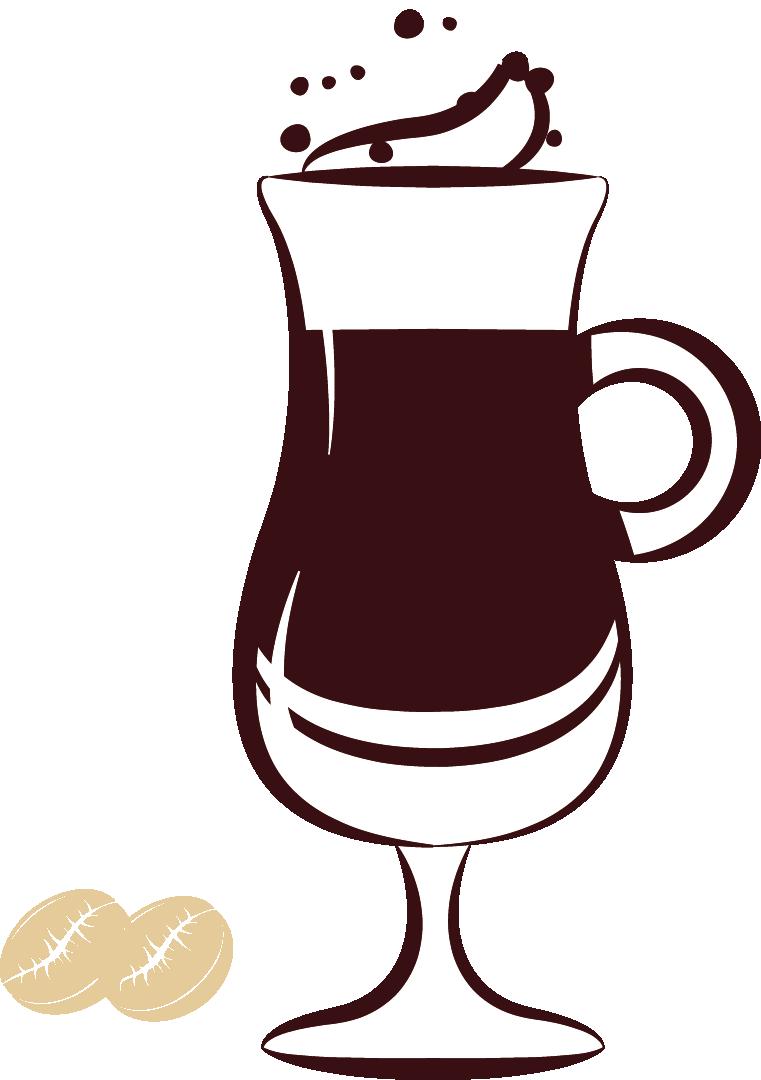 Coffee Art Drawing