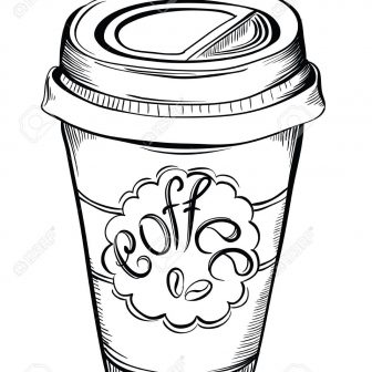 Coffee Cup Drawing | Free download on ClipArtMag
