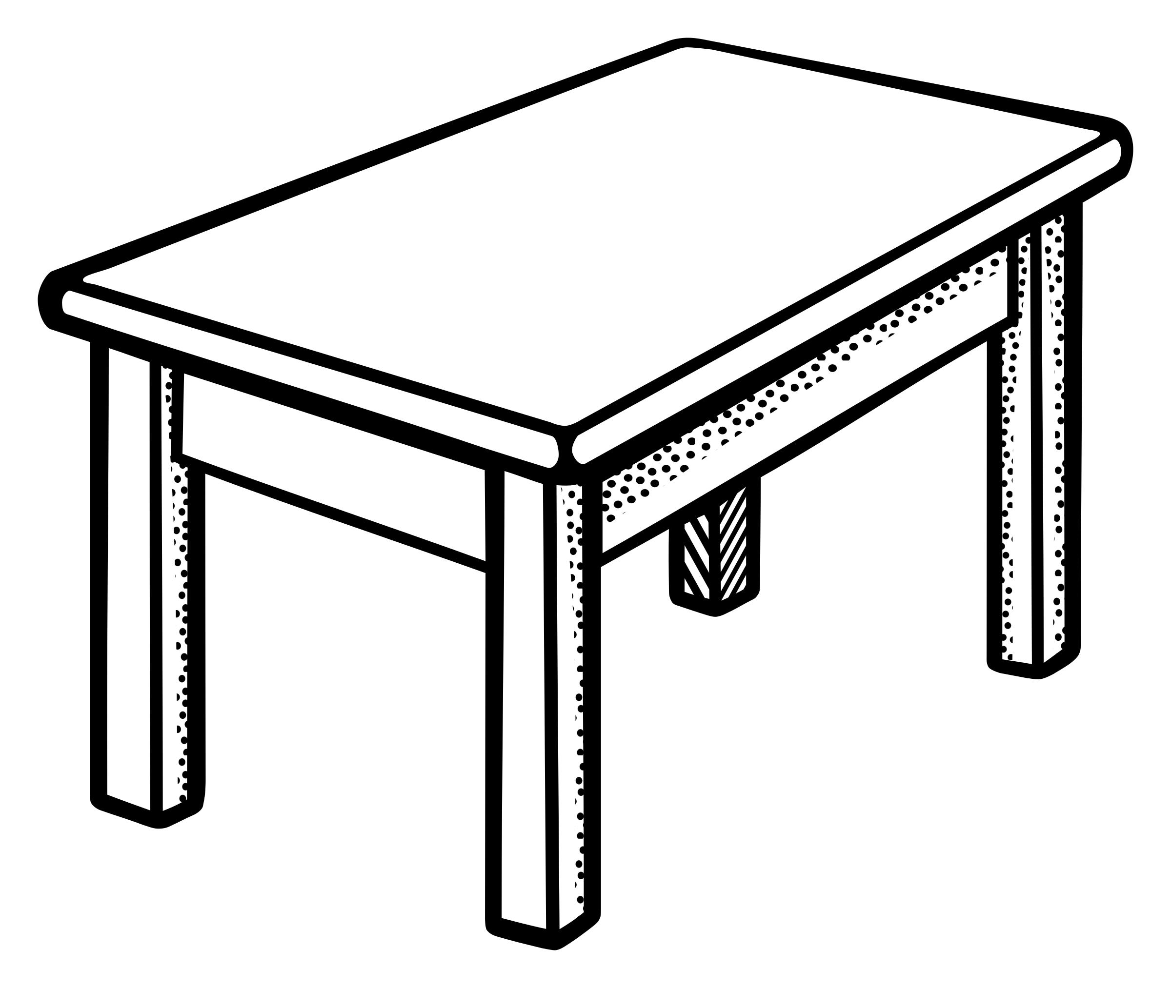 Coffee Table Drawing