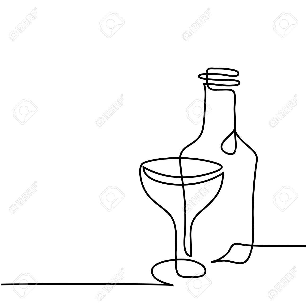 1300x1299 Coke Drawing Wine Bottle For Free Download