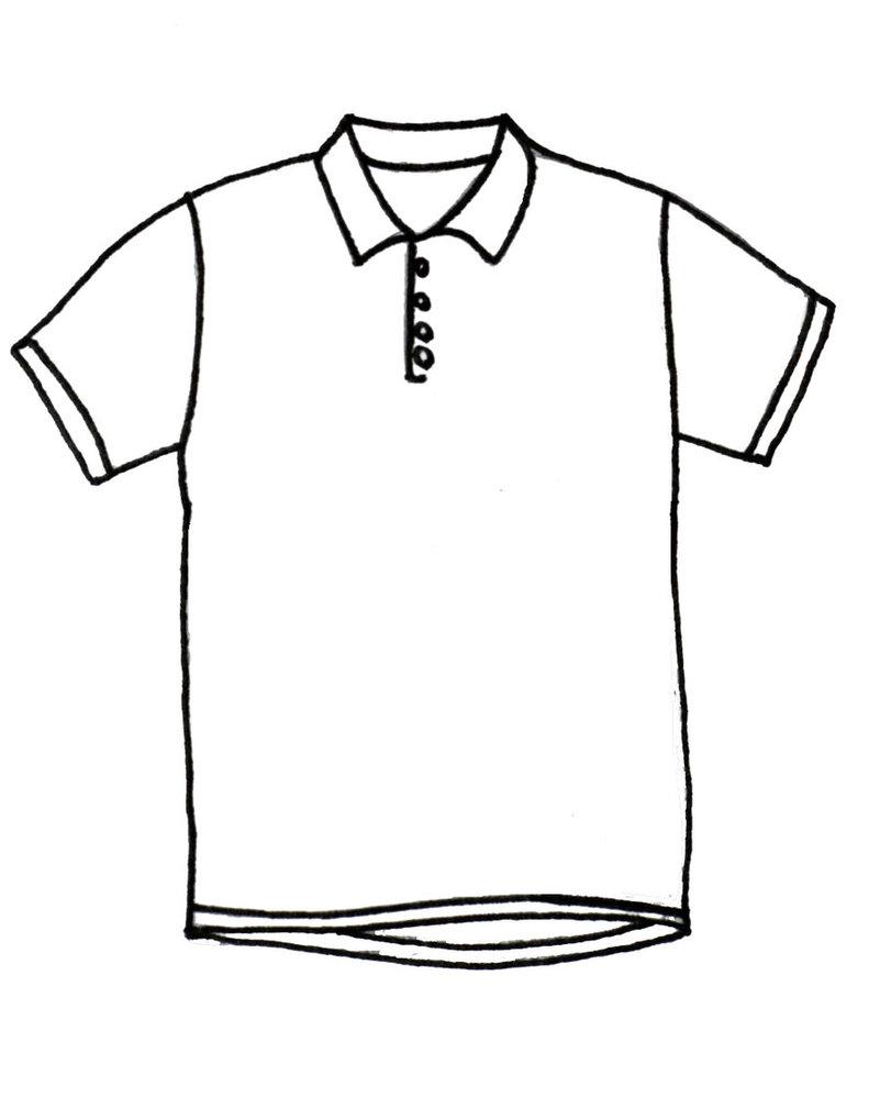 Collared Shirt Drawing