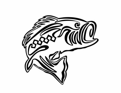500x386 Fish Art Design College Project One Line Drawing Jannawilson