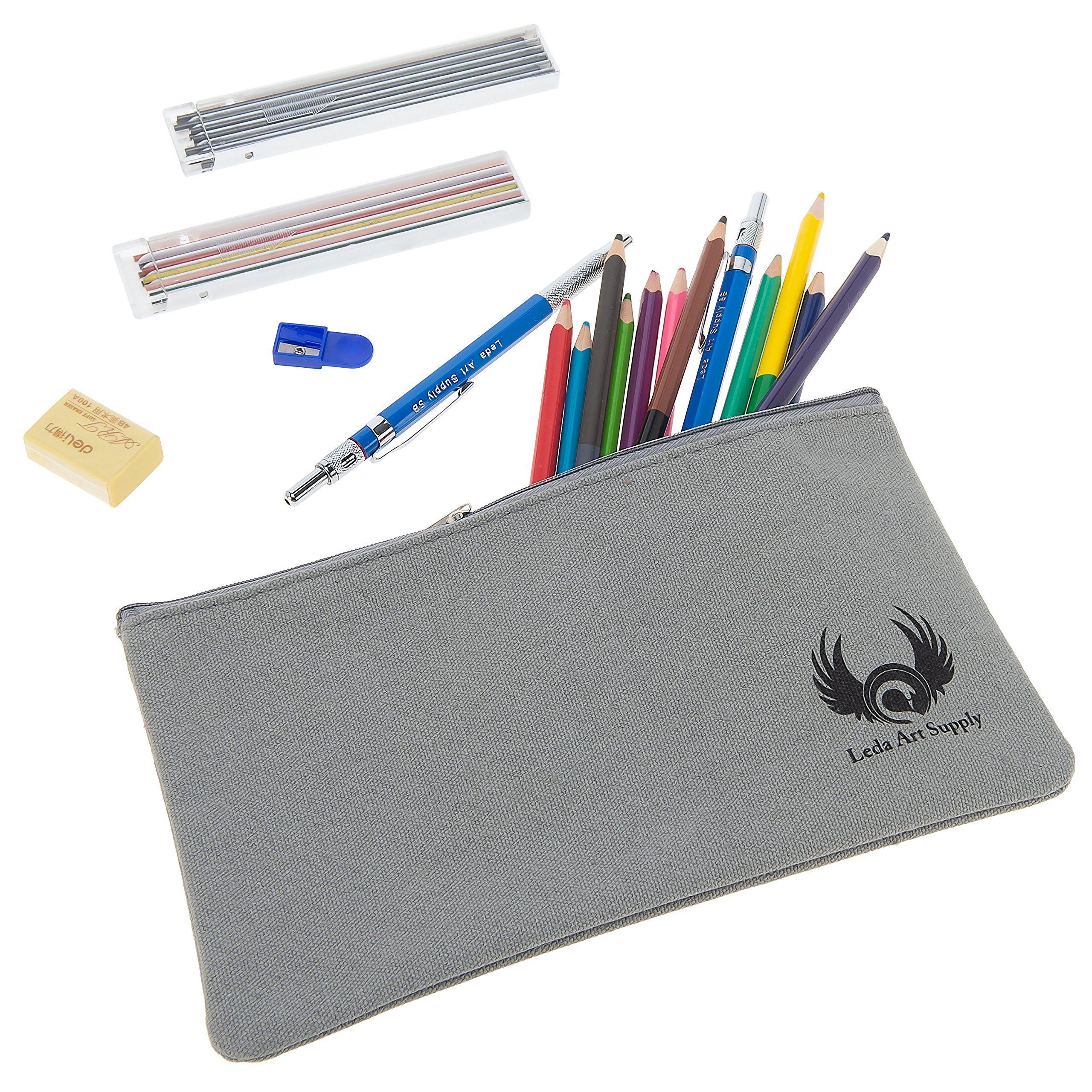 2560x2560 Leda Canvas Pencil Bag