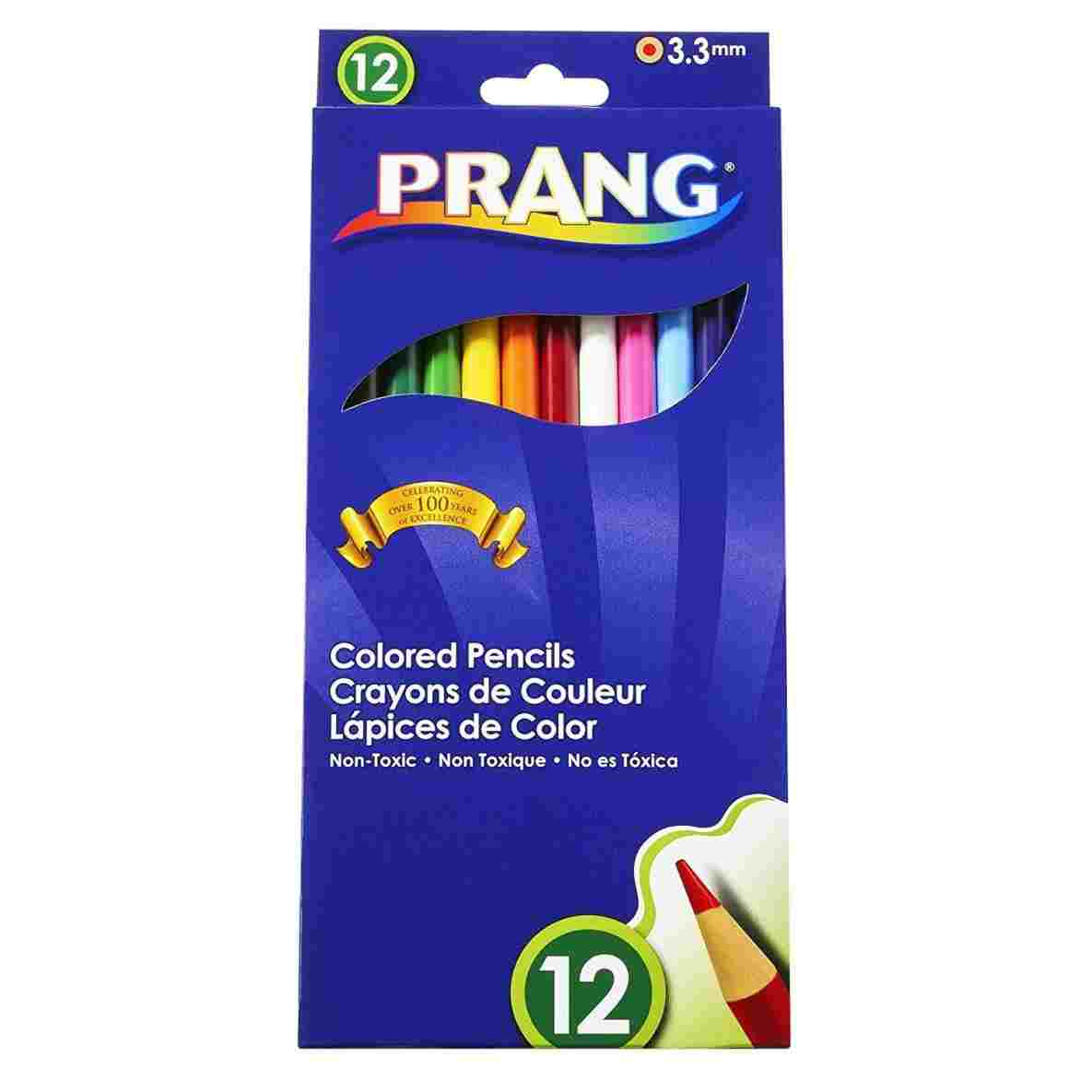 1185x1185 Amazoncom Prang Drawing Pencils Thick Core Colored Millimeter