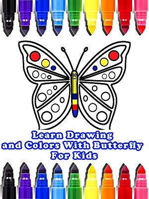 300x400 Watch Learn Drawing And Colors With Butterfly For Kids