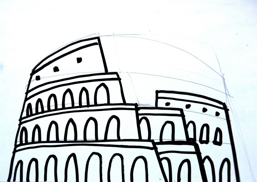 1024x726 pop up italian roman arenas art camp art, roman art, pop up