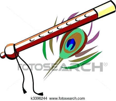450x390 drawing colour pictures drawing flute with brown colour search