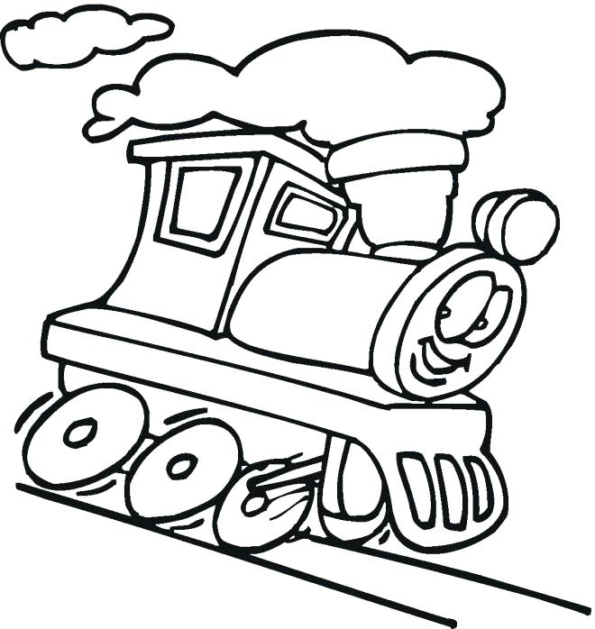 660x698 trains to colour in train drawing for kids trains new colour