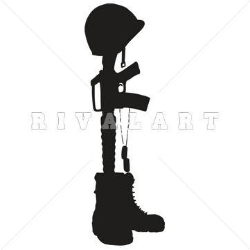 361x361 Combat Boots Clipart