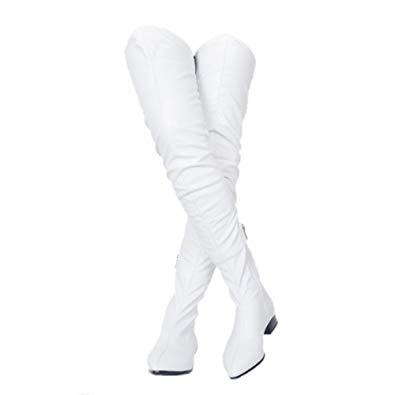 395x395 Kiwicedar Knee High Gladiator Boots For Women