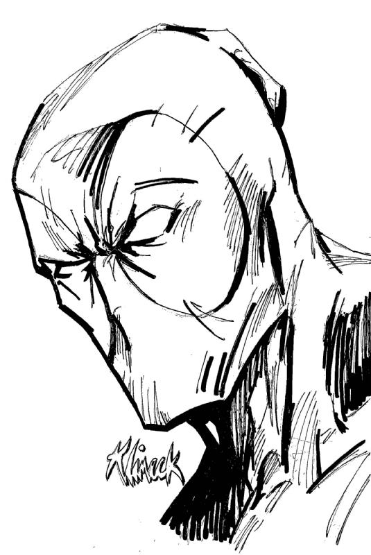 Comic Book Drawing