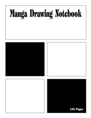 314x406 manga drawing notebook variety of templates for manga comic book