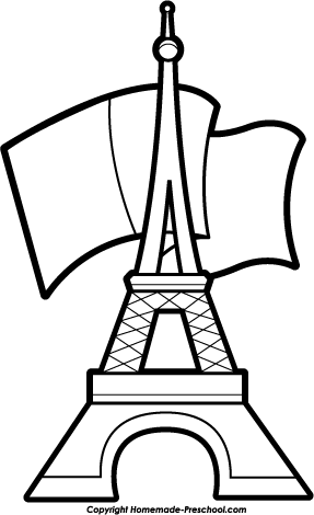 287x470 free eiffel tower clipart coloring pages eiffel tower drawing