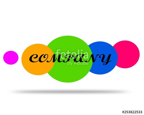 500x400 drawing logo company vector logo the name of the company