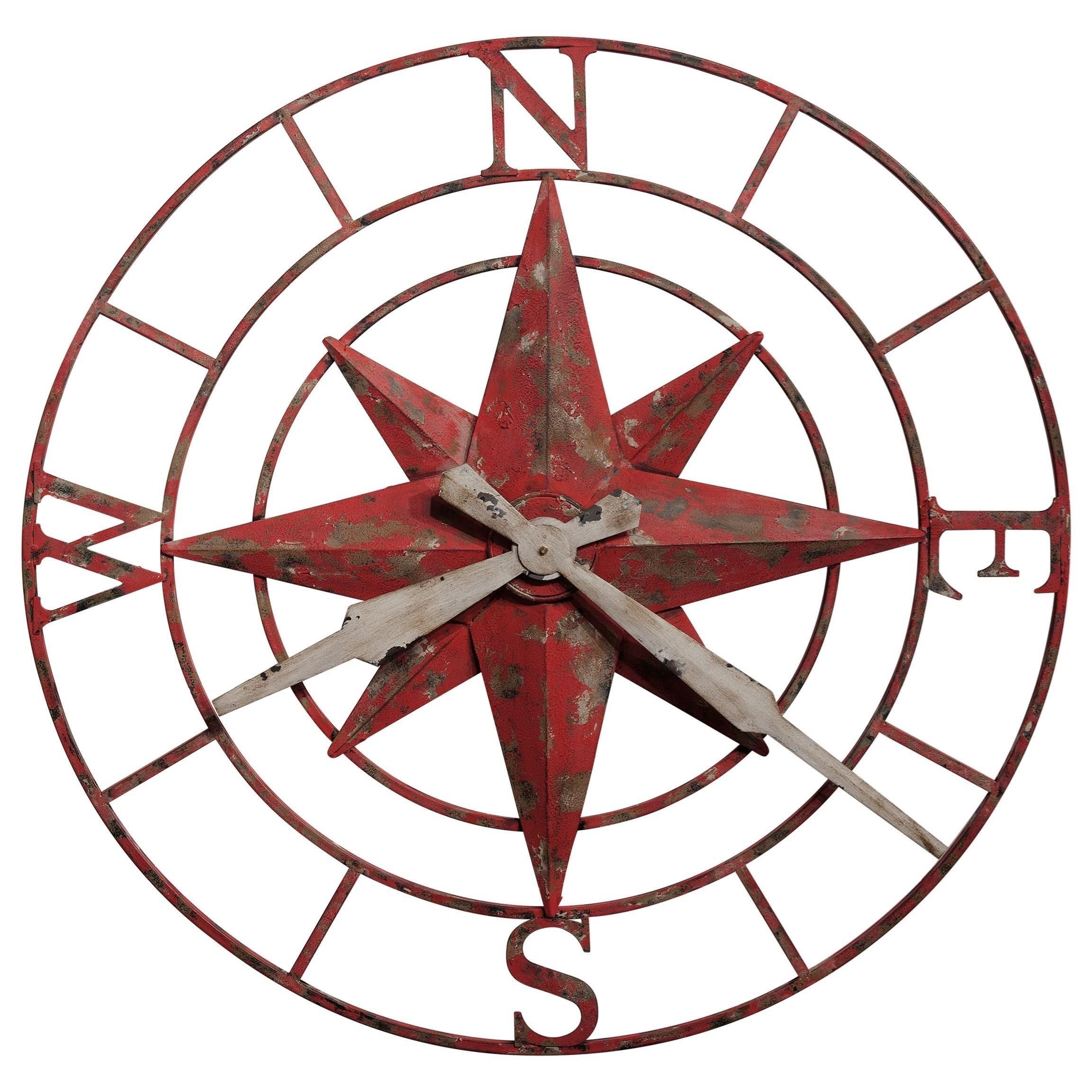 2305x2305 Howard Miller Wall Clocks Compass Rose Wall Clock Homeworld