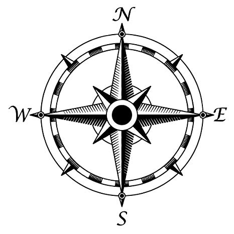 466x466 Huge Collection Of 'nautical Compass Drawing' Download More Than
