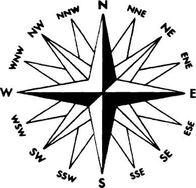 388x371 Mariner's Compass Drawing The Points Of A Compass