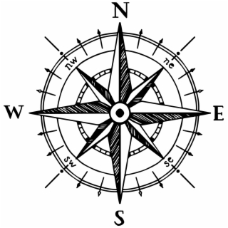 320x320 compass rose wind rose hand compass computer icons