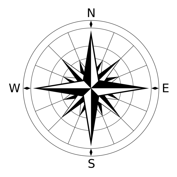 750x750 Compass Rose Computer Icons Image Formats Encapsulated