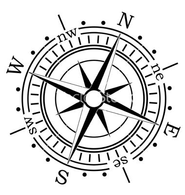 380x400 Compass Vector Invitescardsfontsdesign Compass Vector