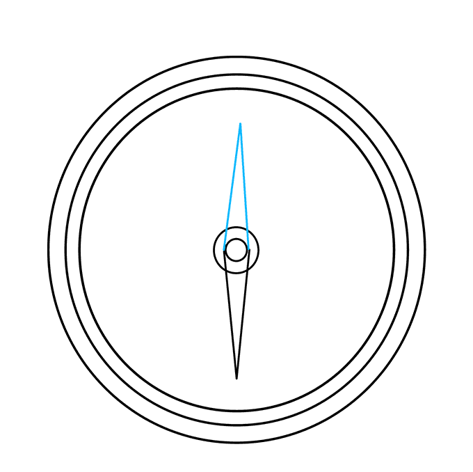 680x678 How To Draw A Compass
