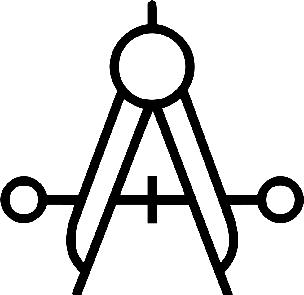 981x952 Collection Of Free Compass Line Drawing Download On Ui Ex