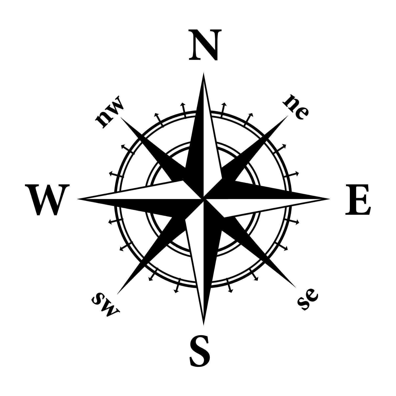 1656x1656 Compass Clip Art Drawing At Getdrawings Com Free For Personal Use