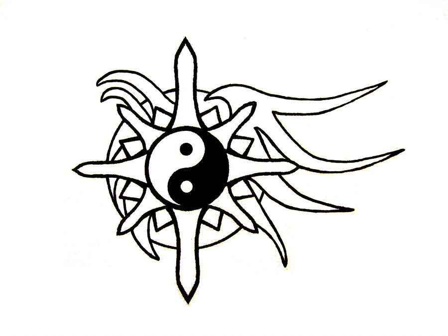 900x675 Compass Tattoo Design