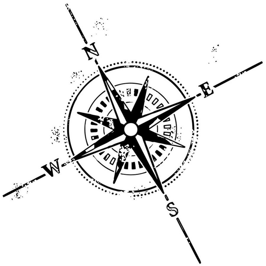 900x900 Nice Compass Tattoo Design Tattoos
