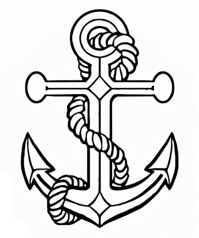 668x800 Pictures Of An Anchor Best Anchor Drawings Ideas