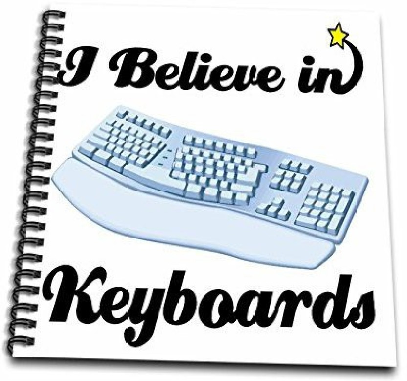 Computer Keyboard Drawing