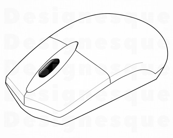 570x456 computer mouse computer mouse clipart computer mouse etsy