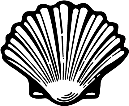 417x343 fresh conch shell clip art how to draw a conch shell