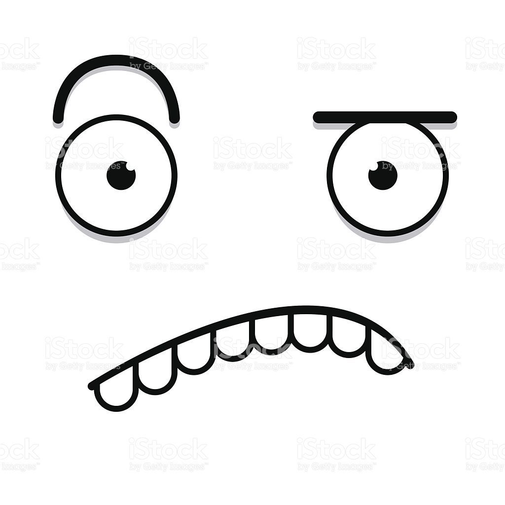 1024x1024 confused drawing puzzled face for free download